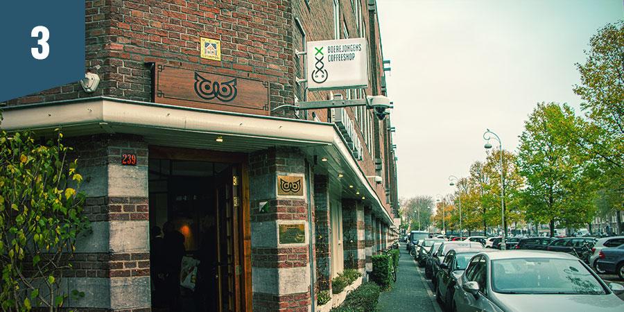 Boerejongens Coffeeshop Amsterdam - Mejores Productos CBD