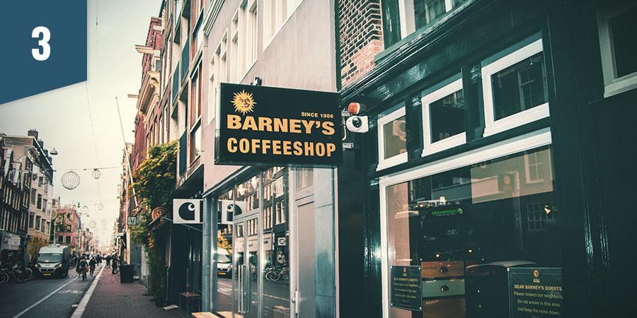 BARNEY'S COFFEESHOP AMSTERDAM