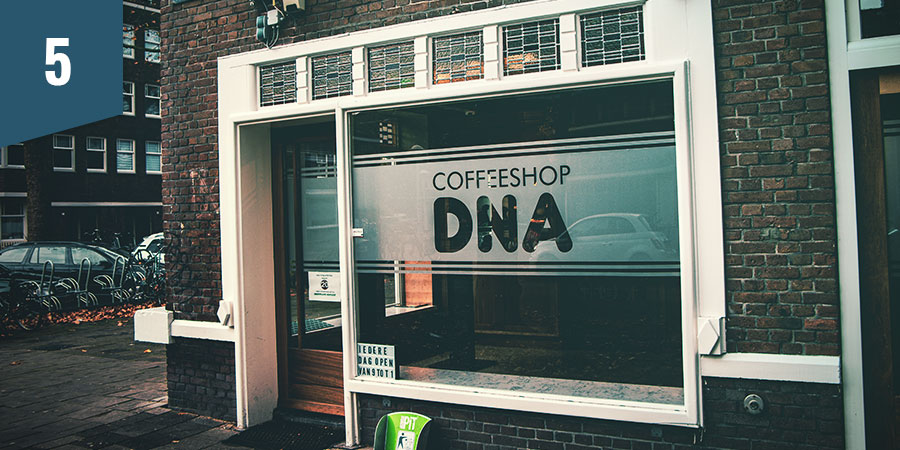 COFFEESHOP DNA