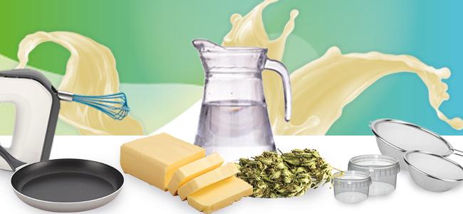Ingrédients Mantequilla De Cannabis