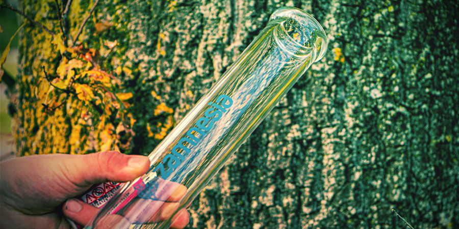 Tubo Recto Cannabis Bong