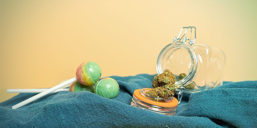 Marihuana y piruletas: ¿la combinación perfecta?