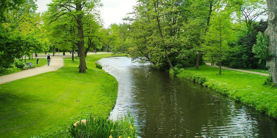 Lugares Para Fumar En Ámsterdam: Parques