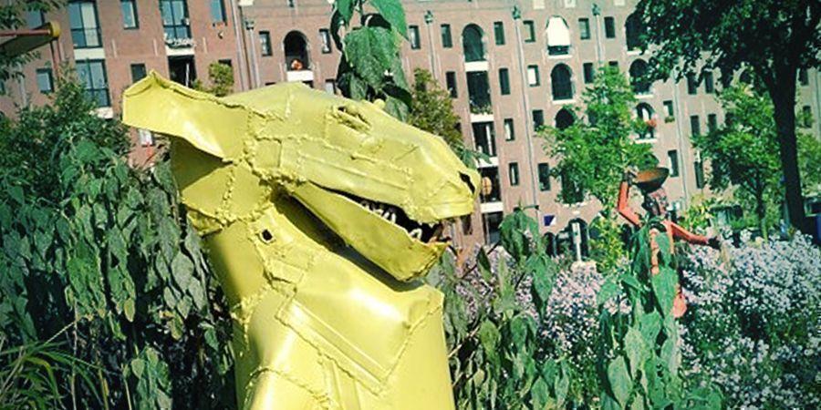 Lugares Para Fumar En Ámsterdam: El Jardín De Esculturas Zootje