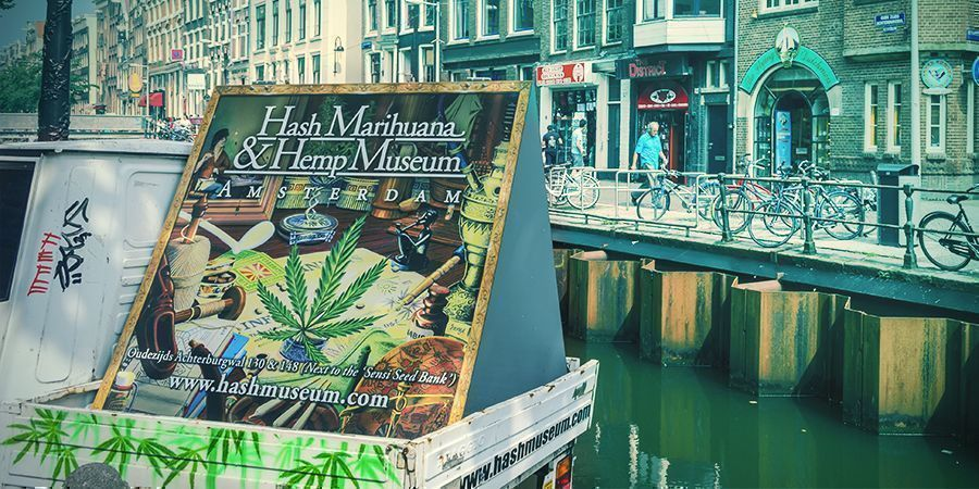 El Museo De La Marihuana Amsterdam