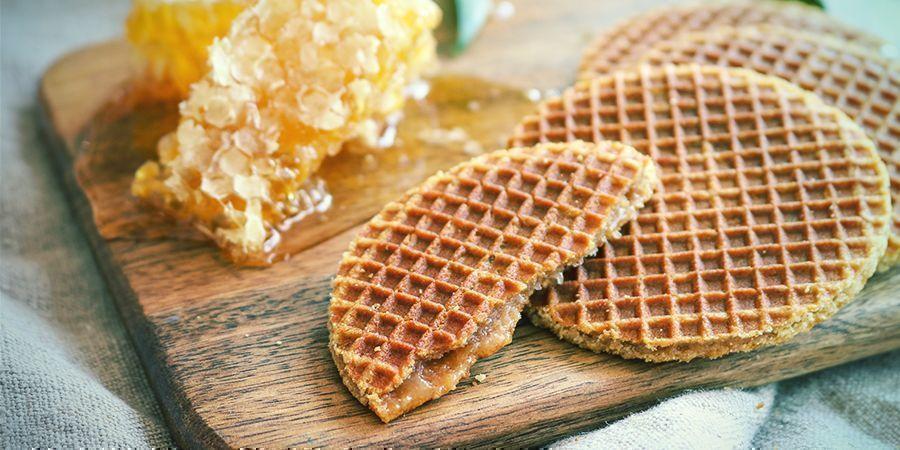 Snacks para fumetas en Ámsterdam: stroopwafels