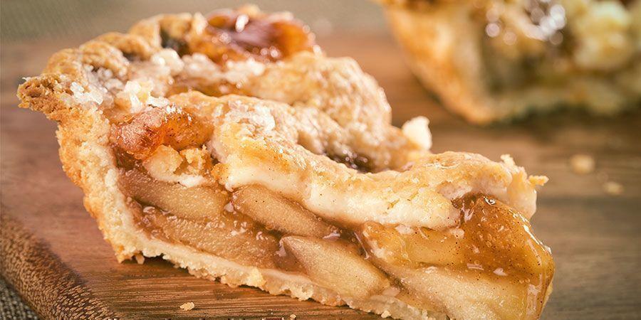Snacks para fumetas en Ámsterdam: tarta de manzana holandesa