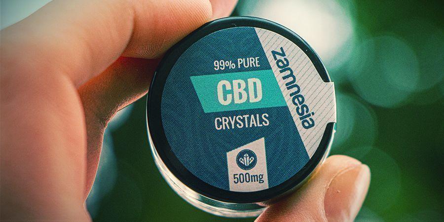 Cristales De CBD Puro Al 99% (Zamnesia)