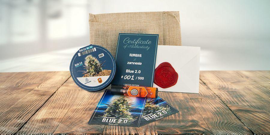 Blue 2.0 Feminizada (Kannabia Seed Company & Zamnesia)