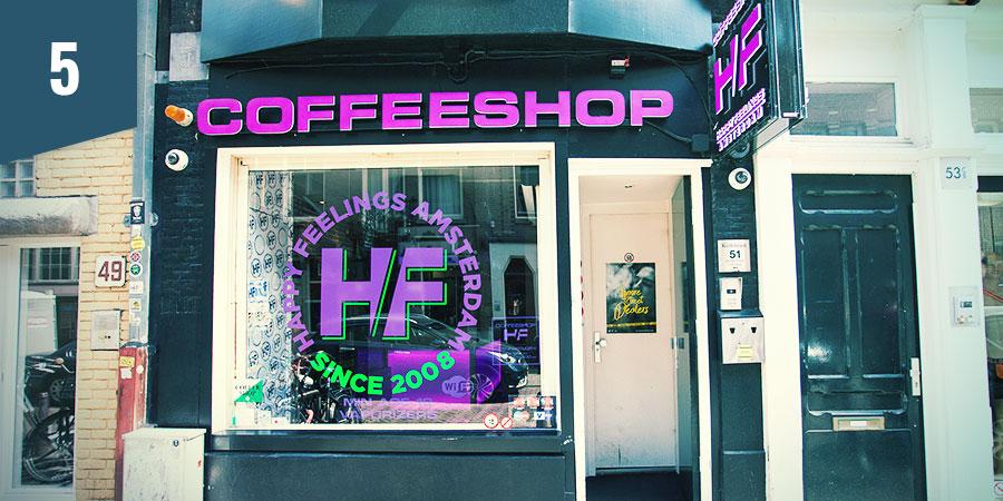 Happy Feelings Coffeeshop Amsterdam
