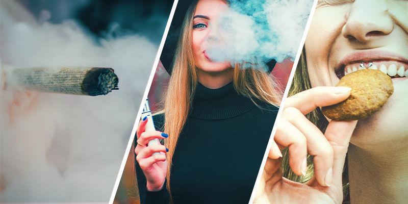 ¿Hay Alguna Diferencia Entre Fumar, Vapear E Ingerir Demasiada Hierba?