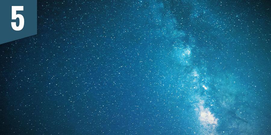 Contempla las estrellas