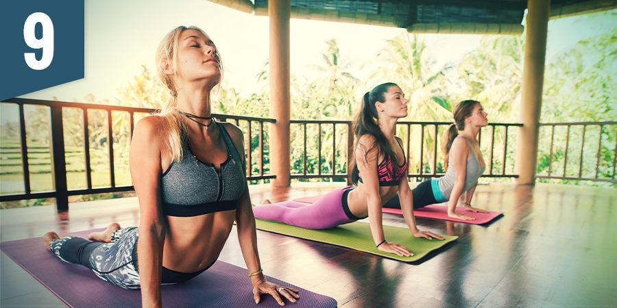 Apúntate a un yoga shala