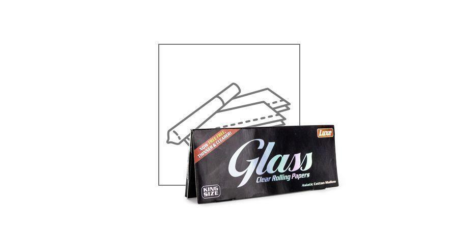 Papelillos De Liar Glass Transparentes King Size
