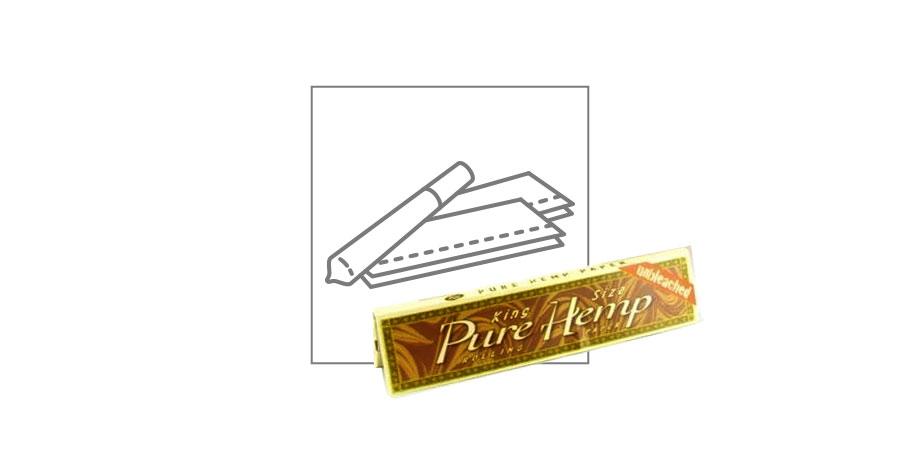PAPEL DE LIAR DE CÁÑAMO PURO