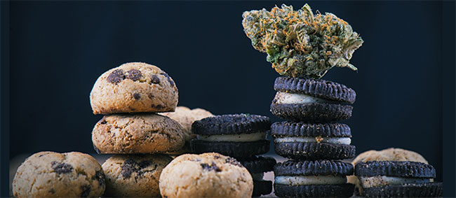 Galletas de cannabis oreo