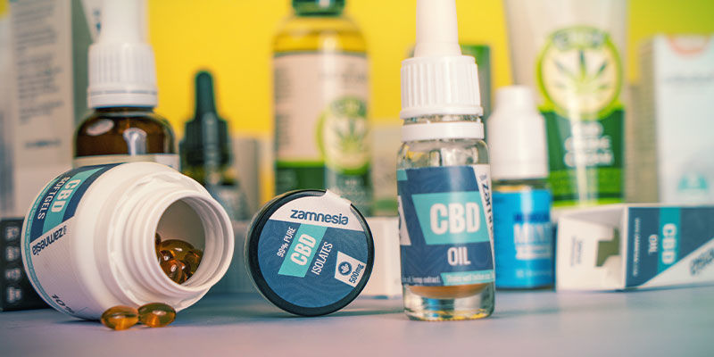 ¿Se Puede Mezclar Diferentes Productos De CBD?