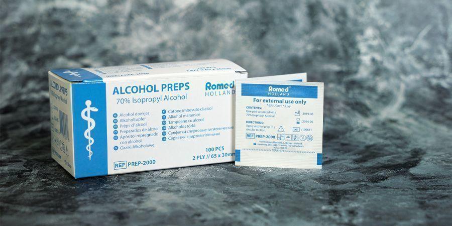 TOALLITAS CON ALCOHOL 70%