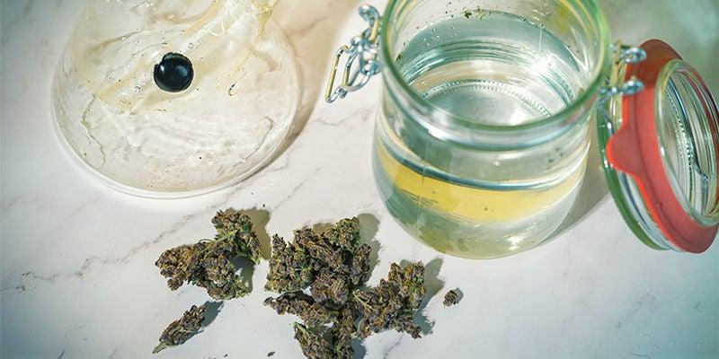 ¿Cuánto THC Puede Atrapar el Agua?
