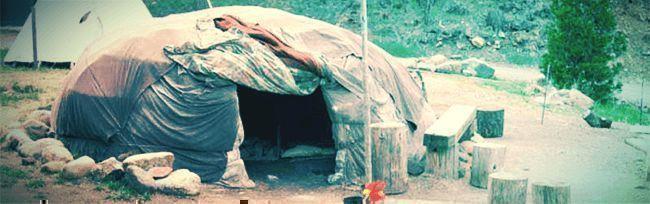 Colocarse Sin Drogas: Cabaña De Sudar