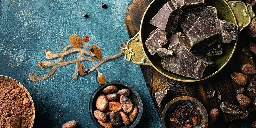 Chocolate De Setas Mágicas