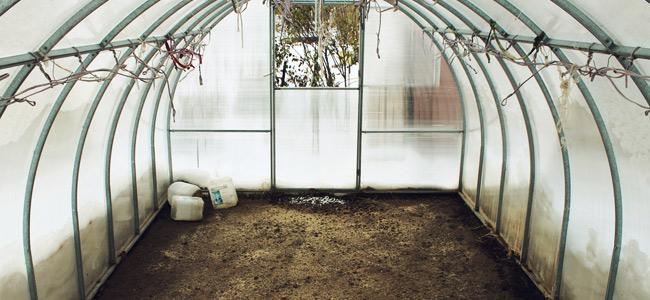 Espacio de Cultivo preparado