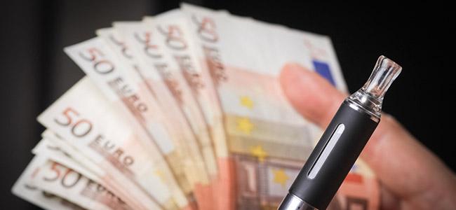 vaporizador dinero