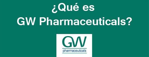 Qué es GW Pharma
