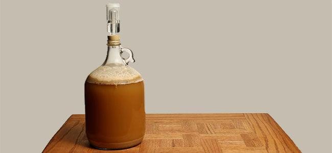 Elaboración de cerveza fermentador