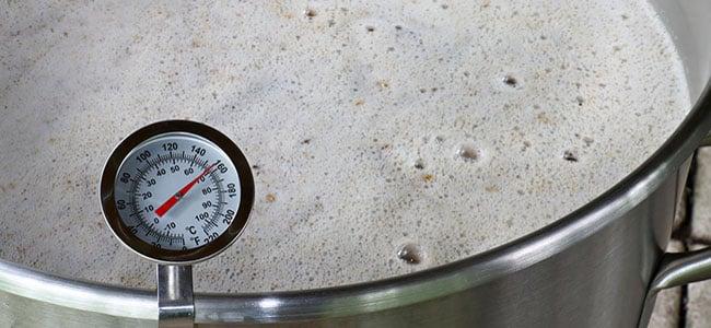 Termómetro cerveza temperatura