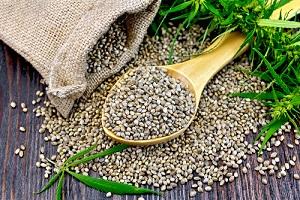 Bolsa de semillas de cannabis