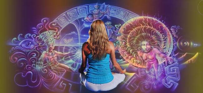 Experiencia psicodélica del yoga