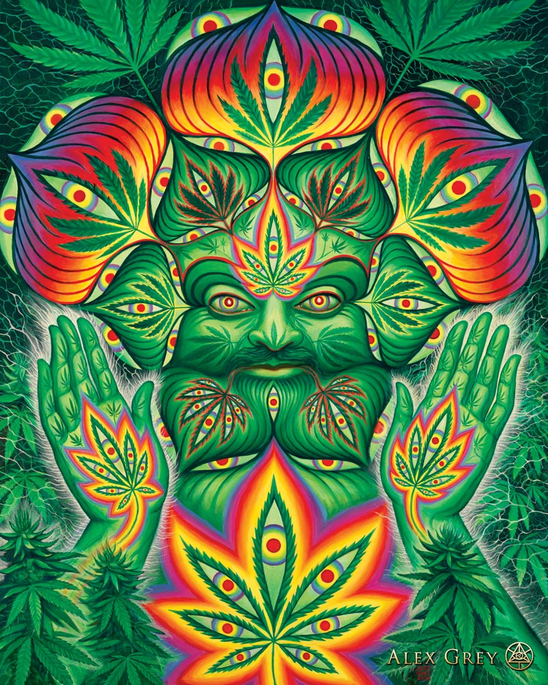 Alex Grey - Cannabacchus