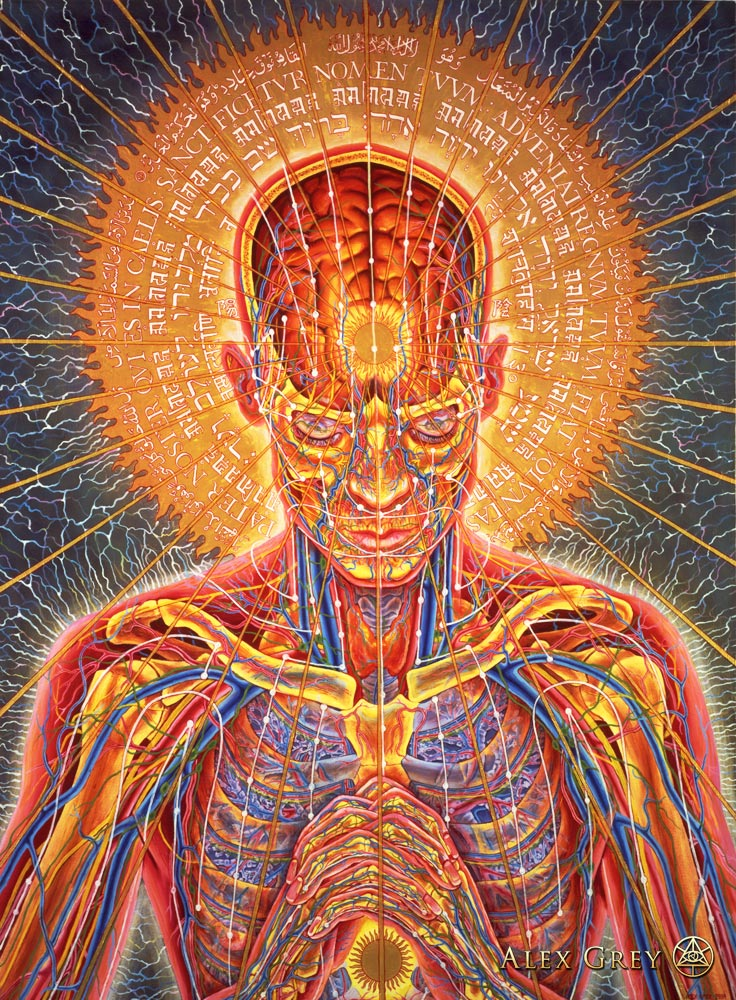 Alex Grey - Praying