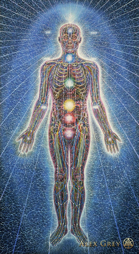 Alex Grey - Psychic Energy System