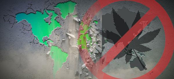 Prohibición mundial del cannabis