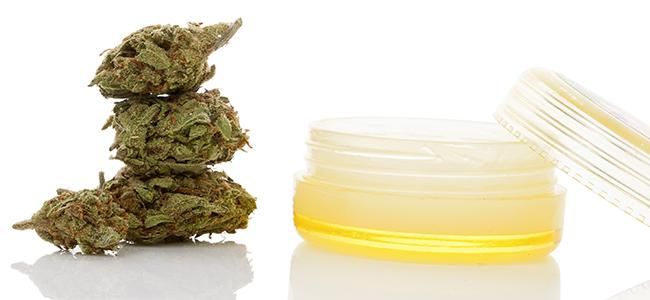 Cremas de tallos de marihuana