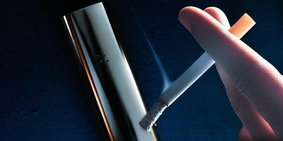¿Cuál es la diferencia entre vaporizar y fumar?