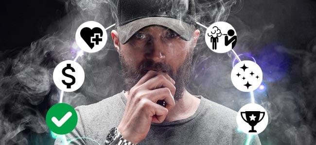 Pros De Los E-cigarrillos