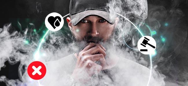 Contras De Los E-cigarrillos