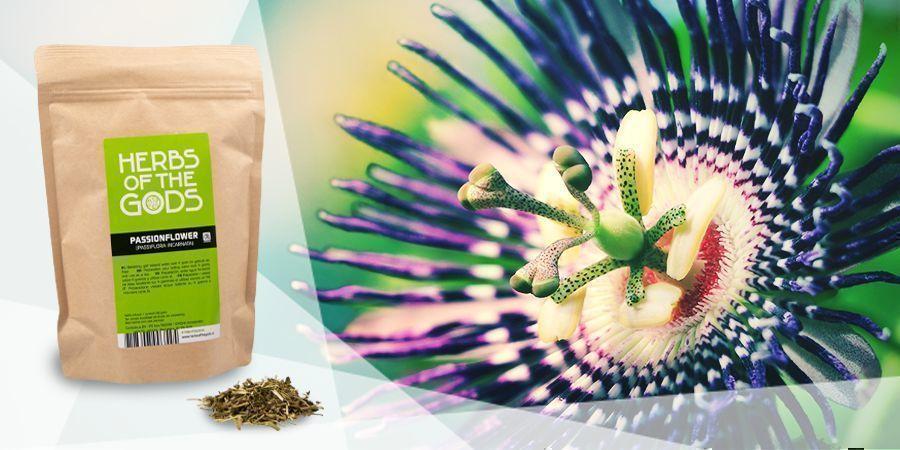 Pasiflora - Hierbas Para Vapear Y Mejorar El Ánimo