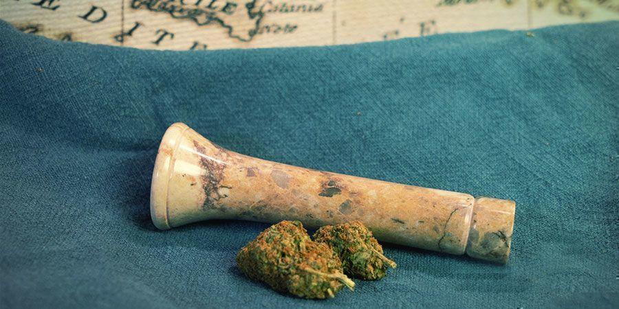 Tipos De Pipa Para Fumar Marihuana: Chilum