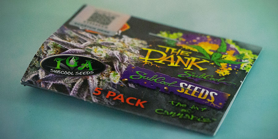 EMBALAJE de The Dank Seeds