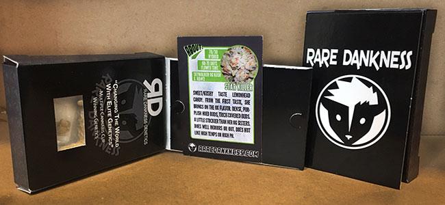 Dentro del packaging Rare Dankness