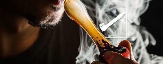 Cómo Fumar Marihuana Usando Una Pipa