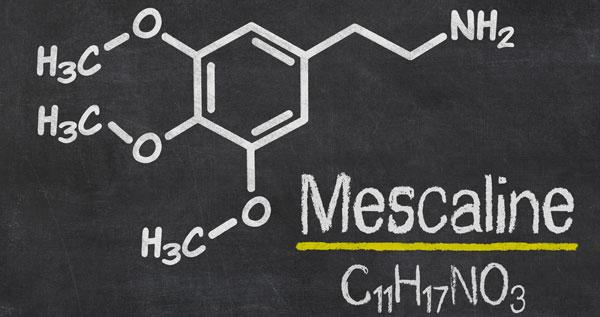Fórmula química de mescalina