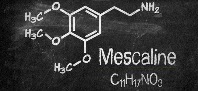 Molécula de mescalina