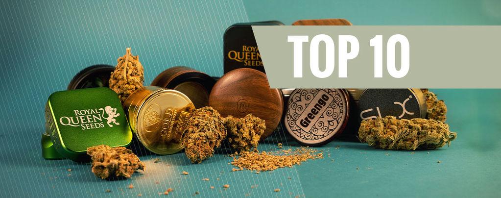 Top 10 De Grinders De Hierba