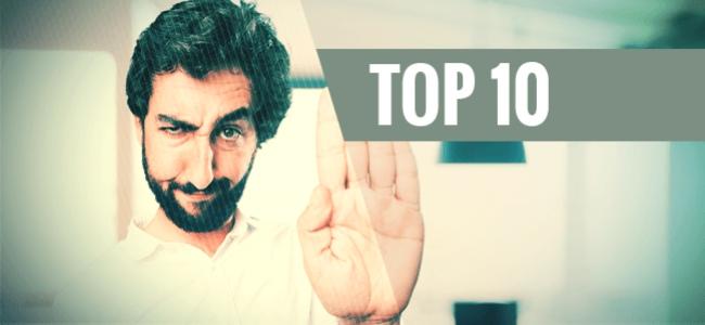 10 Cosas Que No Debes Hacer Estando Colocado