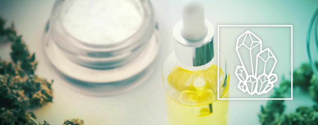 Aceite De CBD Con Cristales De CBD